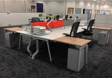 VISION COMPLETE ANOTHER PHASE OF TAYLOR HOBSON REFURBISHMENT.