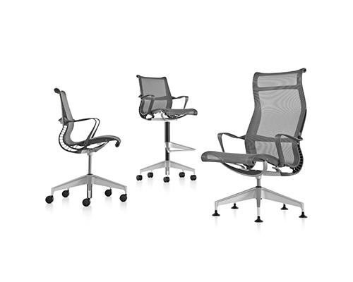 herman miller setu chair range
