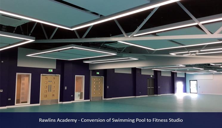 Rawlins Academy Rockfon System Installation