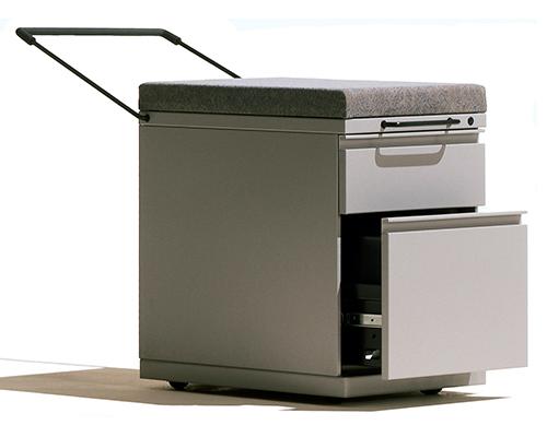 Herman Miller Meridian Filing Cabinet Open