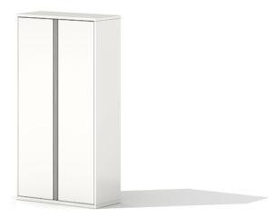 Herman Miller Meridian White Filing Cabinet