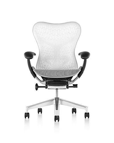 Herman Miller Mirra 2 White Chair