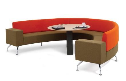 Orangebox Curved Soft Seating