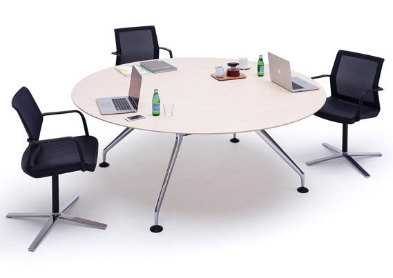 Lano Circular Meeting Desk