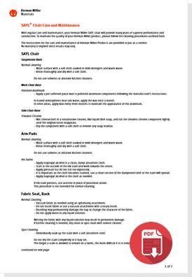 Sayl Care and Maintenance