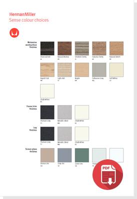 Download The Sense Colour Choices