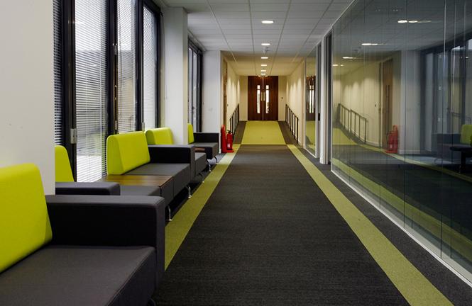 Leica Geosystems Hallway Details