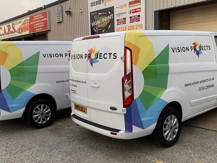 Vision Projects New Mini Van Fleet