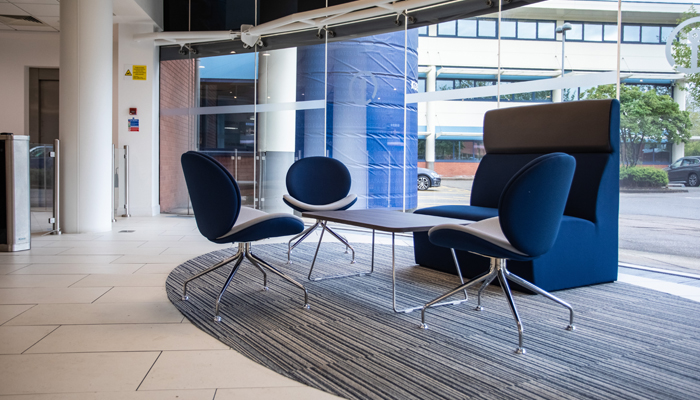Waiting area fit out design by Vision Projects