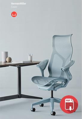 Herman Miller COSM chair brochure
