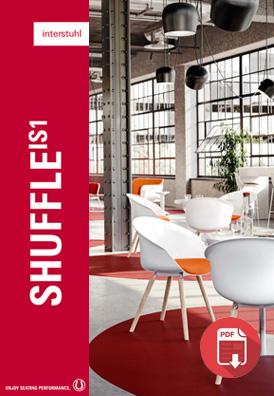 Interstuhl shuffle chair brochure