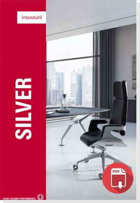 Interstuhl silver chair brochure