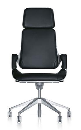Interstuhl silver chair range