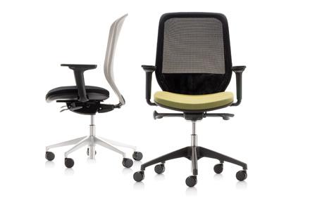 Adjustable Office Seating By Orangebox, Joy
