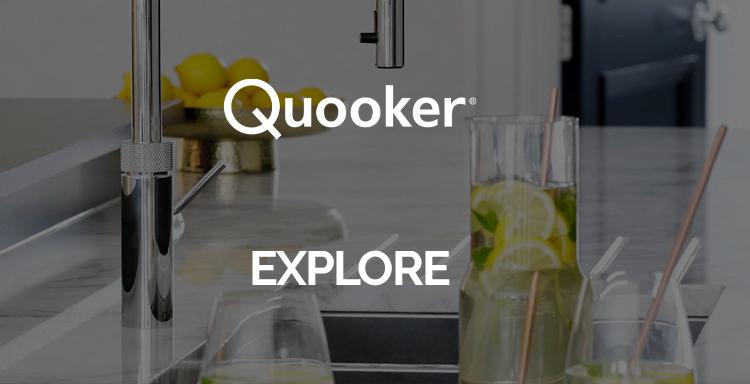 Quooker energy saving kitchen range