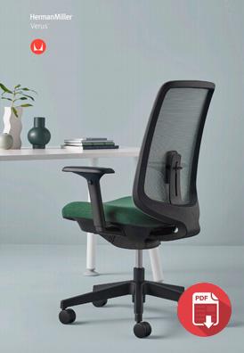 Herman Miller Verus Chair Brochure