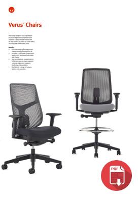 Herman Miller Verus Chair Product Sheet