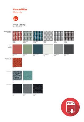 Herman Miller Verus Chair Colour Choices