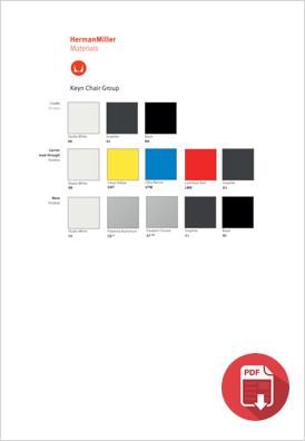 Herman Miller Keyn Colour Choices