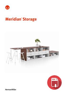 Herman Miller Meridian Storage Product Sheet