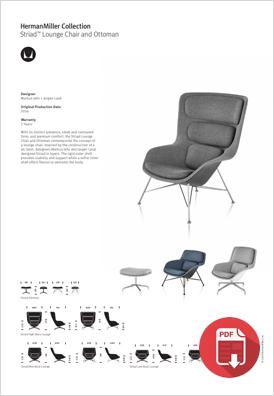 Striad Lounge Chair Product Choice